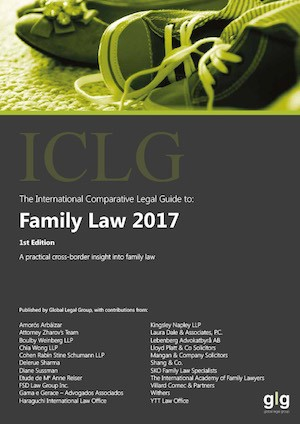 ICLG: Family Law 2017 - Divorce Solicitor